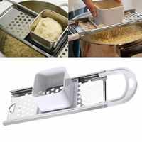 De acero inoxidable Manual de Spaetzle de huevos de Dumpling herramienta seguridad Hopper Pasta casera herramientas de la cocina utensilios de cocina