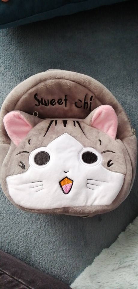 Kids cartoon Chi's Sweet Home Cat backpack kindergarten children cute school bag baby girls schoolbag mochila gift good quality photo review