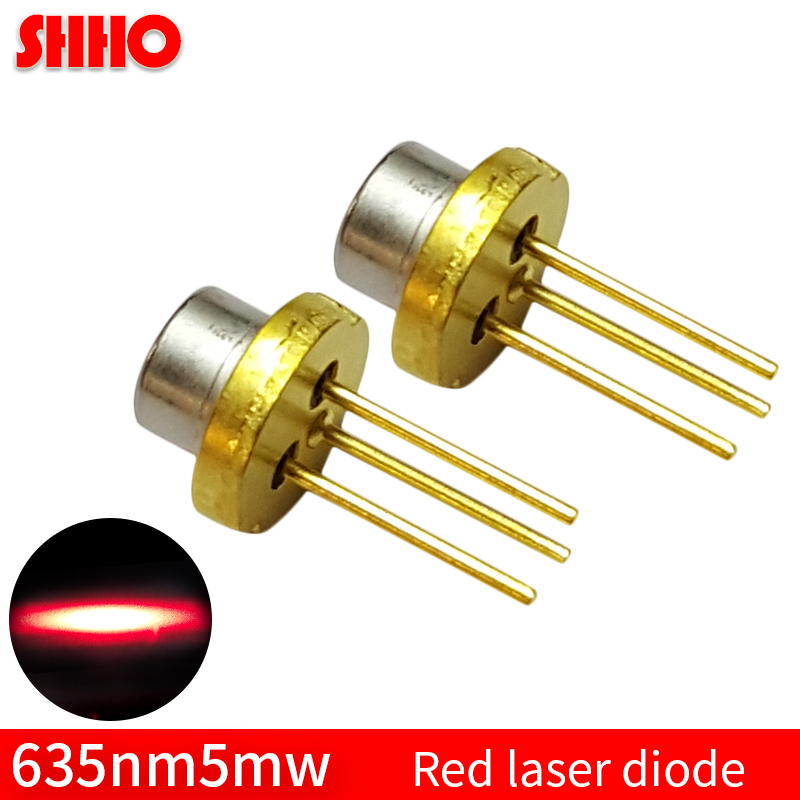 Red light low power TO18/diameter 5.6mm 635nm 5mw red laser diode locator accessories semiconductor lamp parts