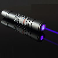 OXLasers OX B40 445nm 450nm 3000m 3kmW focusable blue laser pointer burning star pointer torch with 5 star caps free shipping