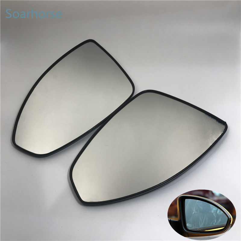 Soarhorse for Chevrolet Cruze Car side rearview mirror glass lens With heated function wing mirror glass 2009-2014 model kool vue cv41el s chevrolet silverado pickup driver side power heated mirror