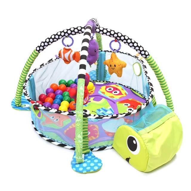 Cotton Baby Kids Crib Infant Toddler Baby Children Activity Gym