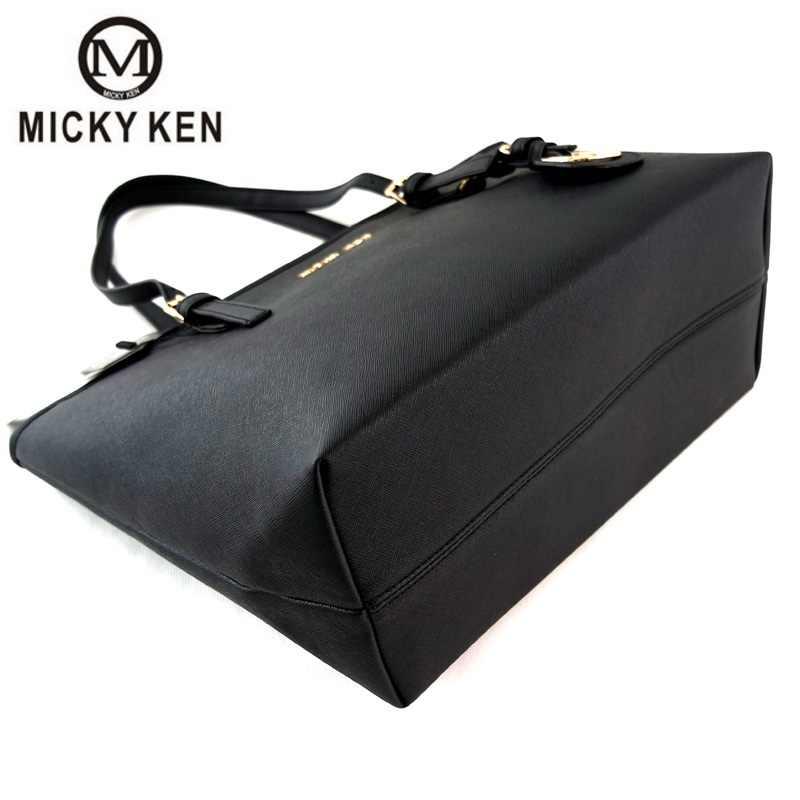 MICKY KEN 2019 حقيبة يد نسائية جديدة من الجلد الصناعي حقائب كروسبودي موضة عالية الجودة حقيبة ساعي نسائية حقيبة ساعي نسائية