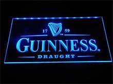 A002 Гиннеса Винтаж логотипы Пивной бар Неоновый с включения/выключения 7 цветов 4 размеров, чтобы выбрать