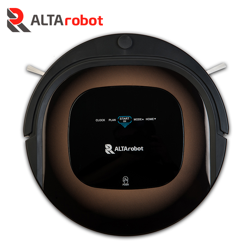 ALTArobot D450 Smart Robot Vacuum Cleaner for Home Dry Wet Mop Auto Charge Cleaning Robotic Cleaner ROBOT free for russian buyer 4 in 1 multifunctional robot vacuum cleaner with virtual blocker self charging lcd touch liectroux
