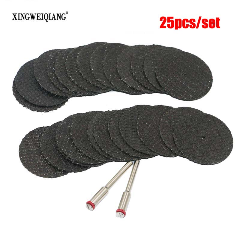 Fiberglass Reinforced Cut Off Wheel Disc w/ 2 Mandrel 1/8 Fit Dremel Tool 25pcs костюм спортивный ea7 ea7 ea002emuee92