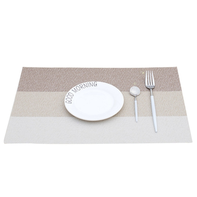 Placemat Table Mat Hand Woven Encryption Thick Table Pad For Tables - Thick table pad