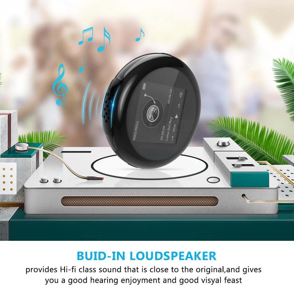 New Top SALE fashion Portable Wireless Mini MP3 Player LCD Screen Support 32GB Micro HIFI Slick stylish design Sport Compact in HiFi Players from Consumer Electronics