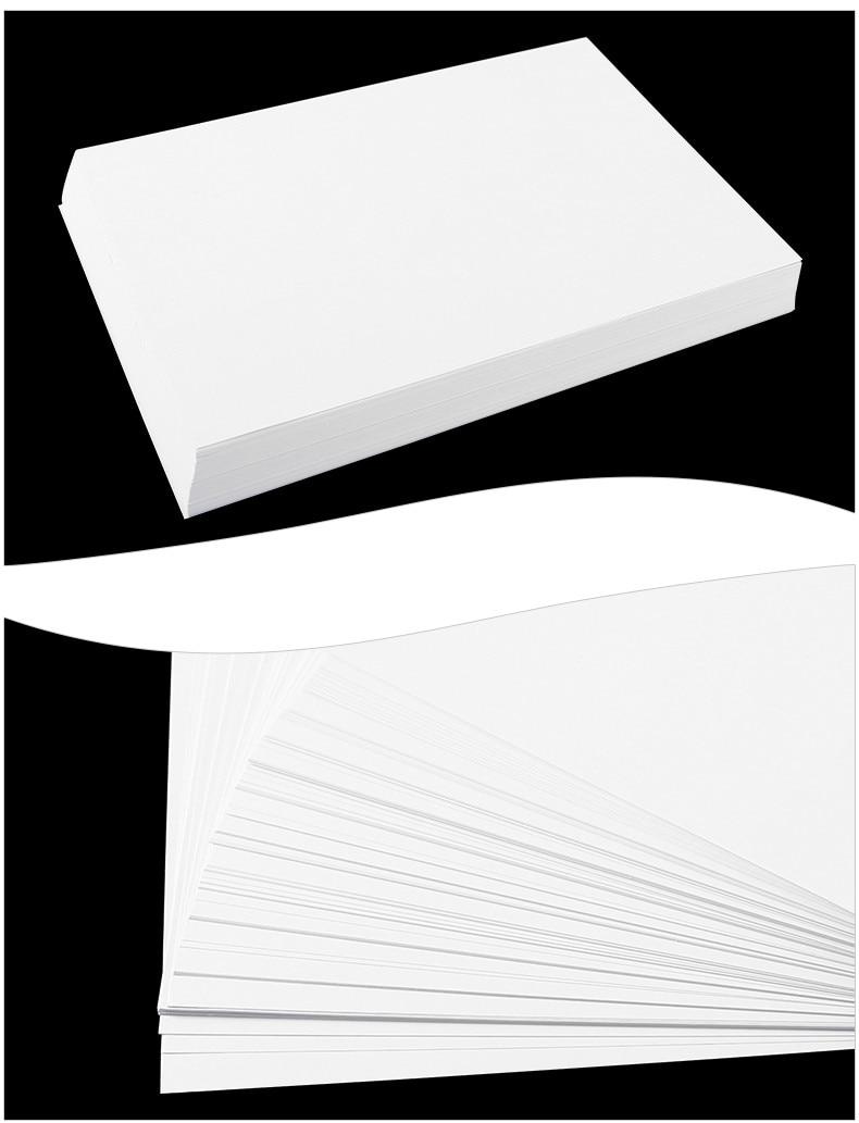 A4& A3 белая копировальная бумага 80 г 70 г чистая древесная целлюлозная бумага для печати канцелярские принадлежности копировальная бумага