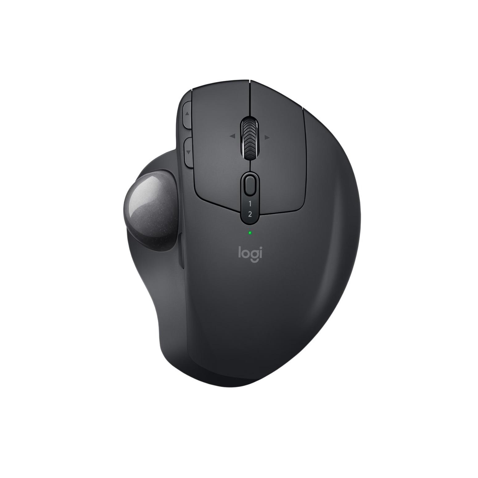 Logitech MX Ergo souris de jeu ordinateur sans fil souris Trackball Bluetooth souris droite-handrf 440 DPI 164g souris d'ordinateur noir
