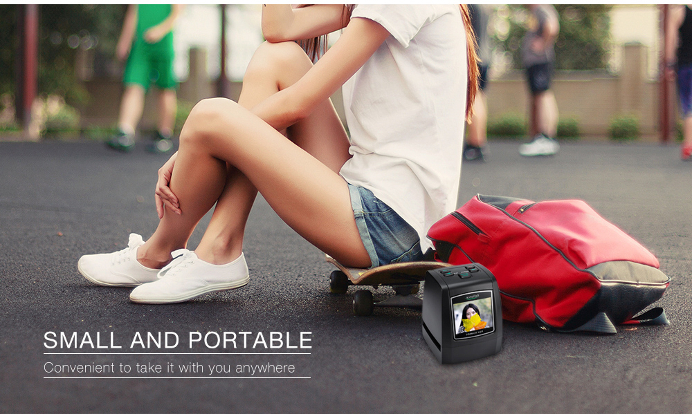 small and portable