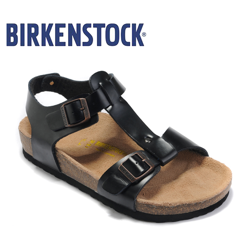 2018 New Arrival BIRKENSTOCK high quality Beach Slides Summer Flat - Men's Shoes - Photo 1