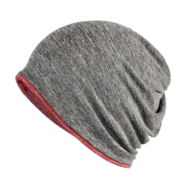 Winter Hat Warm Keeper Outdoor Dual-use Men Women Skull Cap Beanie O Ring  Scarf 9577a1ebc50
