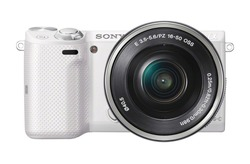 Używany  Sony NEX 5TL lustrzany aparat cyfrowy z 16 50mm soczewka powiększająca moc w Systemowe aparaty bezlusterkowe od Elektronika użytkowa na