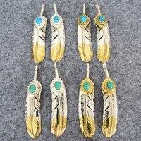 Takahashi Kagura Goro's Sterling Silver Golden Tail Feet Necklace Pendant Female Sexual Mosaic Silk Pendant Men 's Accessories