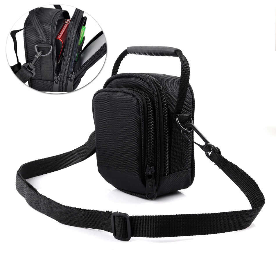 Etui pour sac photo sac messager sac de taille couvre pour Canon PowerShot G7 X Mark II G9X G7X SX730HS G7X Mark III G5X G16 G15 G12