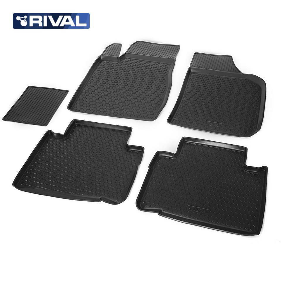 For Great Wall Hover H6 2013-2019 floor mats into saloon 5 pcs/set Rival 12003001 ветровики skyline great wall hover h6 suv 2013 комплект 4 шт