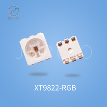 Jercio 50~1000pcs XT9822-RGB(Similar with APA102C) 256 Gray Level Programmable 5050 SMD LED Double-wire high rate.