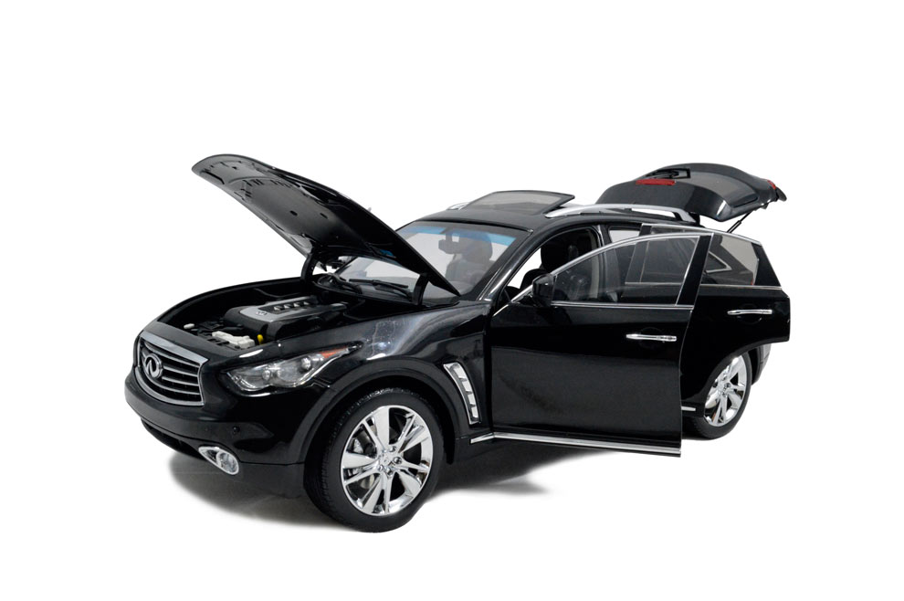Paudi نموذج 1:18 مقياس إنفينيتي QX70 الأسود دييكاست نموذج سيارة سيارات لعبة لعبة نموذج سيارة الأبواب مفتوحة-في سيارات لعبة ومجسمات معدنية من الألعاب والهوايات على  مجموعة 3