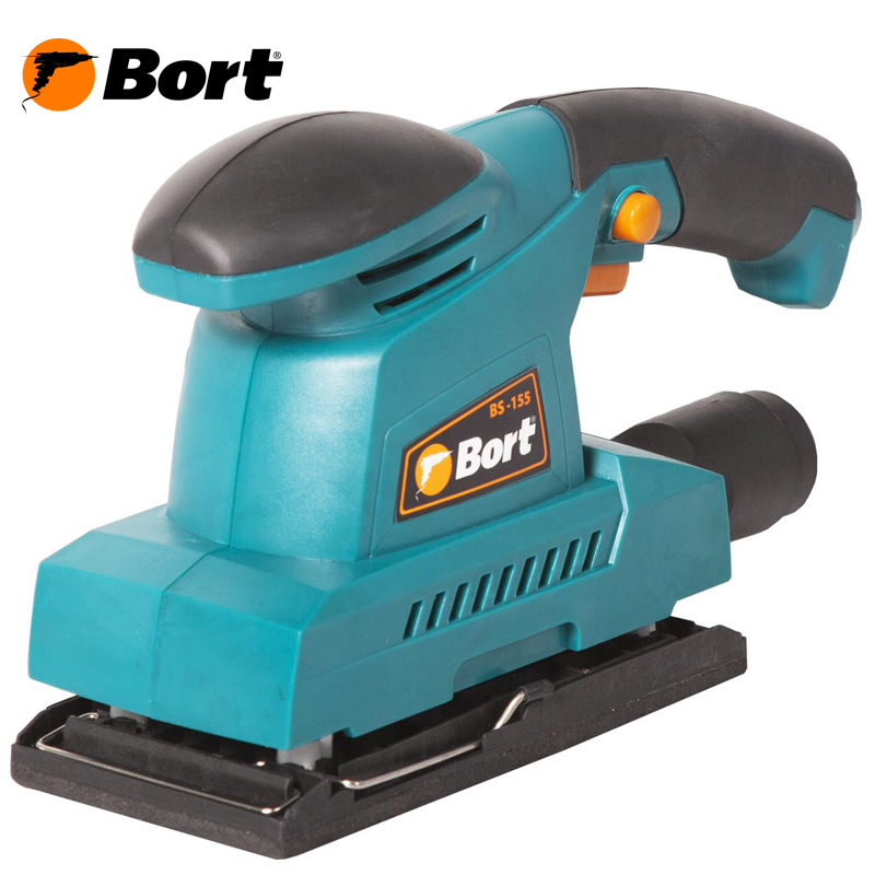 Vibration grinding machine BORT BS-155 electroplated diamond grinding rods set silver 30 pcs