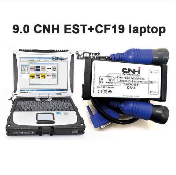 CF19 laptop for CNH Est DPA5 kit diagnostic tool with cnh est 9 0 Electronic Service