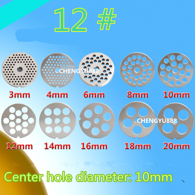 1 pcs 12# meat grinder plate net knife meat grinder parts General plate knife round blade spare parts for meat grinders цена и фото