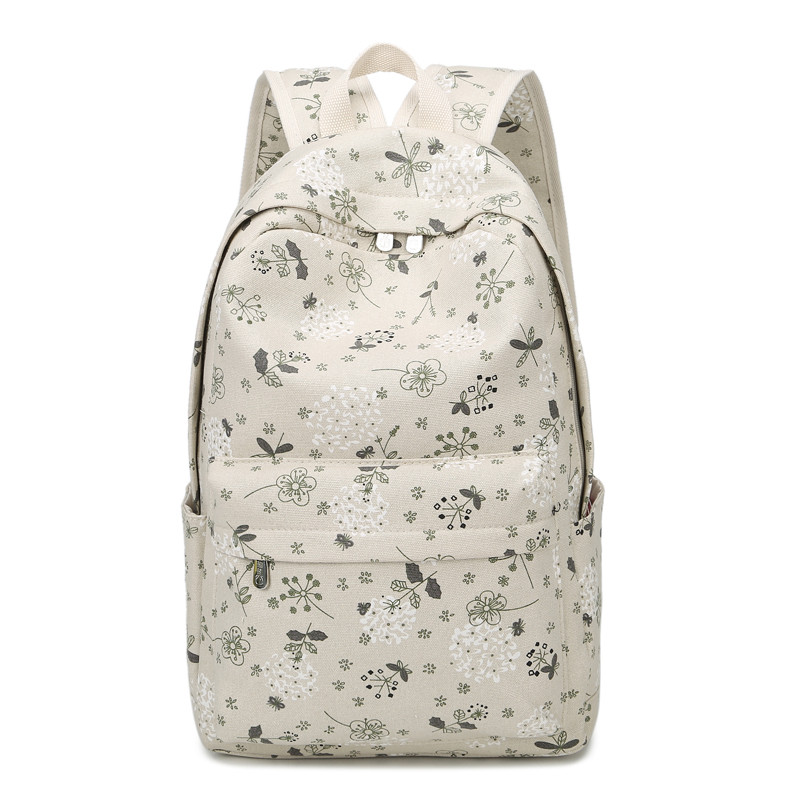 Mini Size Print Women Backpack Korean Preppy Teenager Girl School Bag Casual Ladies Travel Daily Bags Laptop Bag Packs #5
