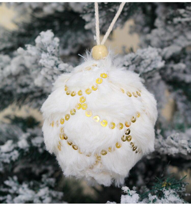13 inhoo 78cm Merry Christmas Rhinestone Glitter Baubles Balls Christmas Tree Hanging Ornaments Decor foam balls Styrofoam Balls
