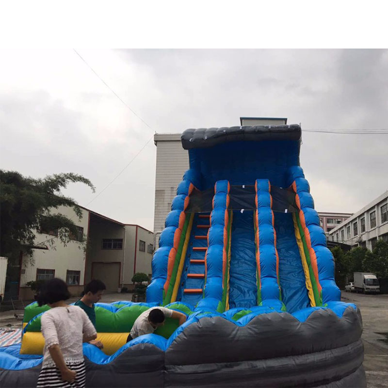 Inflatable Water Slides For Sale: Large Inflatable Slide Outdoor Playground PVC Inflatable