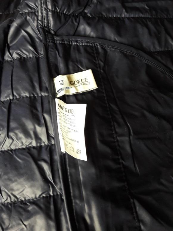 MIEGOFCE 2018 New Spring Short Jacket Women Fashion Coat Padded Cotton Jacket Outwear High Quality Warm Parka Women's Clothing