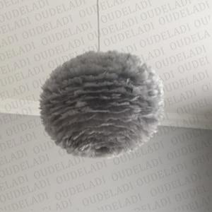 Image 3 - Moderne nordique blanc plume ronde pendentif lumières E27 décoration salle à manger chambre salon maison éclairage lampes