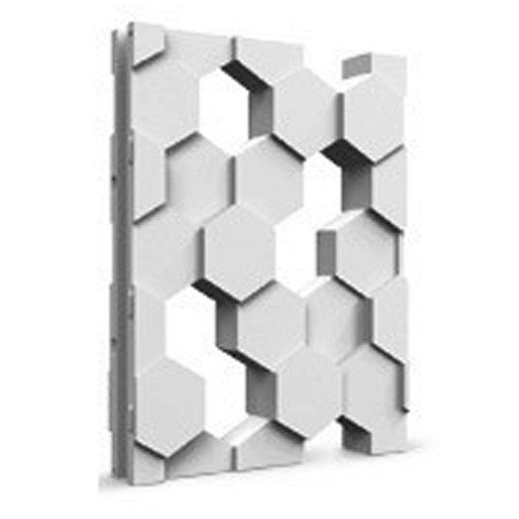 Mold Wall Gypsym Panels *HONEYCOMB* 3D Decorative Plastic Form for Plaster
