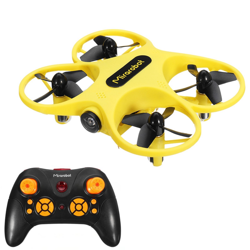 Mirarobot S60 Micro FPV Racing Drone Quadcopter Acro Flight Mode Switch with CM275T 5.8G 720P Camera RTF Chtistmas Gift Toy