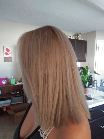 Forever Young Keratin Hair Treatment photo review