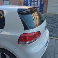 For VW Golf 6 Spoiler ABS Material Car Rear Wing Primer Color Rear Spoiler For Volkswagen Golf 6 ABT Spoiler 2010 2013