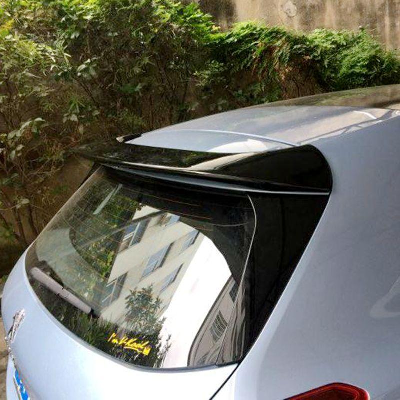 For Peugeot 308S Spoiler High Quality ABS Material Car Rear Wing Primer Color Rear Spoiler For Peugeot 308S Spoiler 2014-2015 for lancer spoiler evo abs material car rear wing primer color rear spoiler for mitsubishi lancer evo spoiler 2010 2014