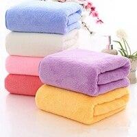 1 Satz Badetuch Badetuch Handtuch Weichen Korallen Samt 35*75 cm Handtuch und 70*140 cm