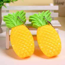 Cartoon Pineapple ballpoint pen Cute fruit 0.5mm ballpint pens with blue  ink Stationery school office supplies biro 91a9a7214db5