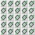 Altro Verde Foglia Tropicale Lettere di Alfabeto Casa 3D Stampa Coperte e Plaid Coperture per Cuscini Coperture Piazza Cerniera Nascosta 45x45 cm