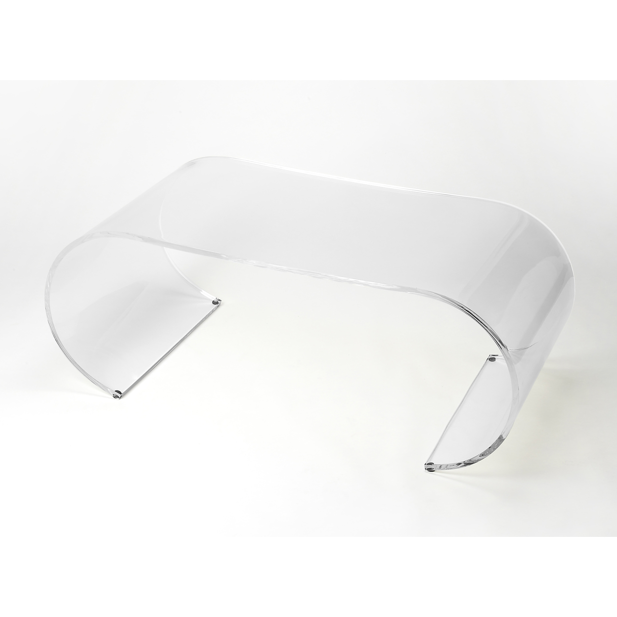 Butler Milan Arched Acrylic Cocktail Table серьги butler and wilson