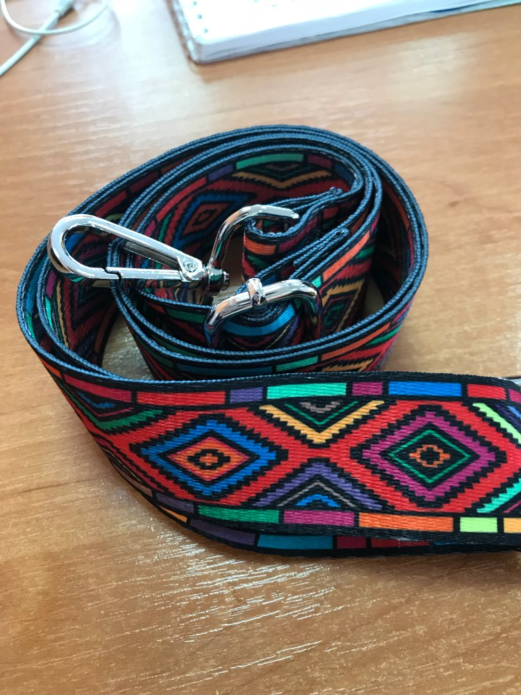 Schouder Hanger Handtas Riemen Decoratie Handvat Ornament Nylon gekleurde zakken bandjes photo review