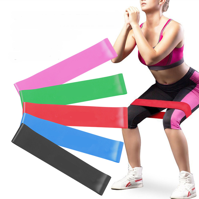 JAYSON Rubber Loop Fitness Band Unisex Yoga Sports Elastic