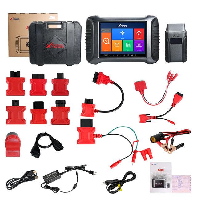 XTOOL A80 H6 Full System Car Diagnostic tool Car OBDII Car Repair Tool Vehicle Programming/Odometer adjustment