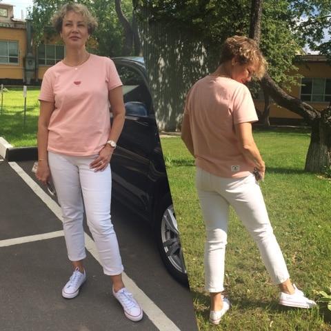 Toyouth Summer Tops Women Watermelon Print T Shirts Base O-Neck Short Sleeve Female T-shirt All-match Pink White Tee Shirt Femme