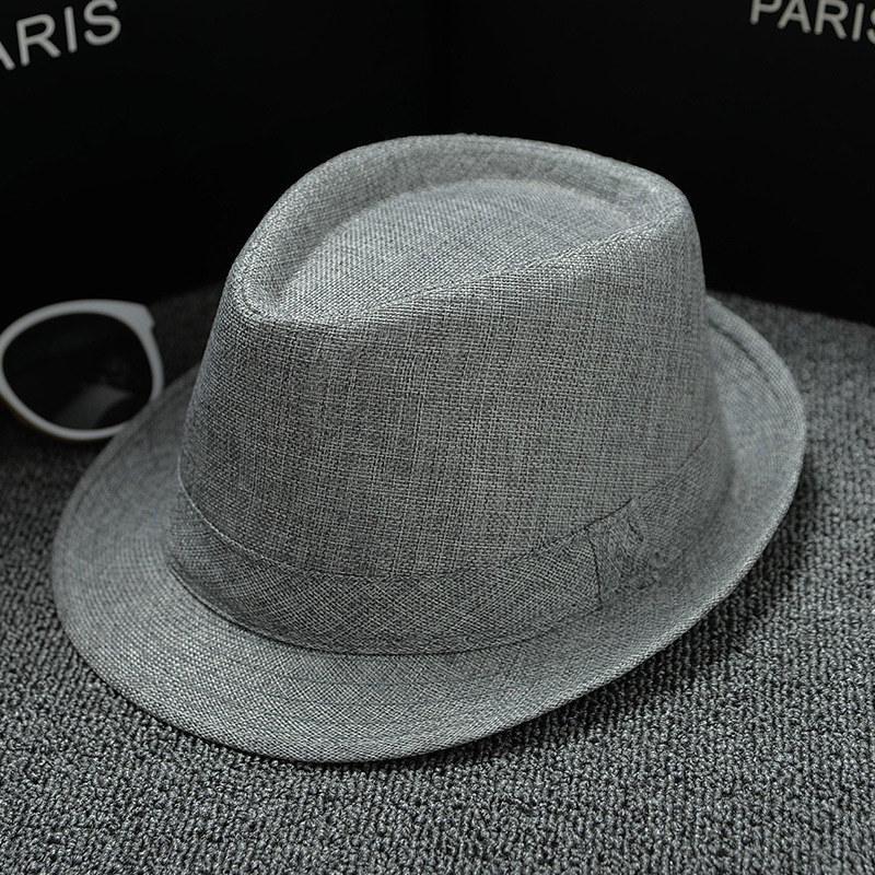 UTB8g4xixlahduJk43Jaq6zM8FXa8 - 2018 England Retro Men's Fedoras Top Jazz Plaid Hat Spring Summer Autumn Bowler Hats Cap Classic Version chapeau Hats