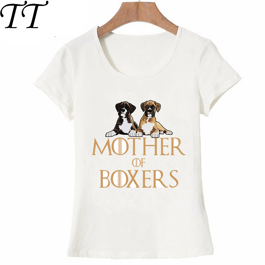 Mother Of Boxers Dog T Shirt