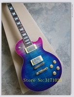 Bad Dog NEW 1959 R9 Tiger Flame Electric Guitar Standard LP 59 Electric Guitar In Stock
