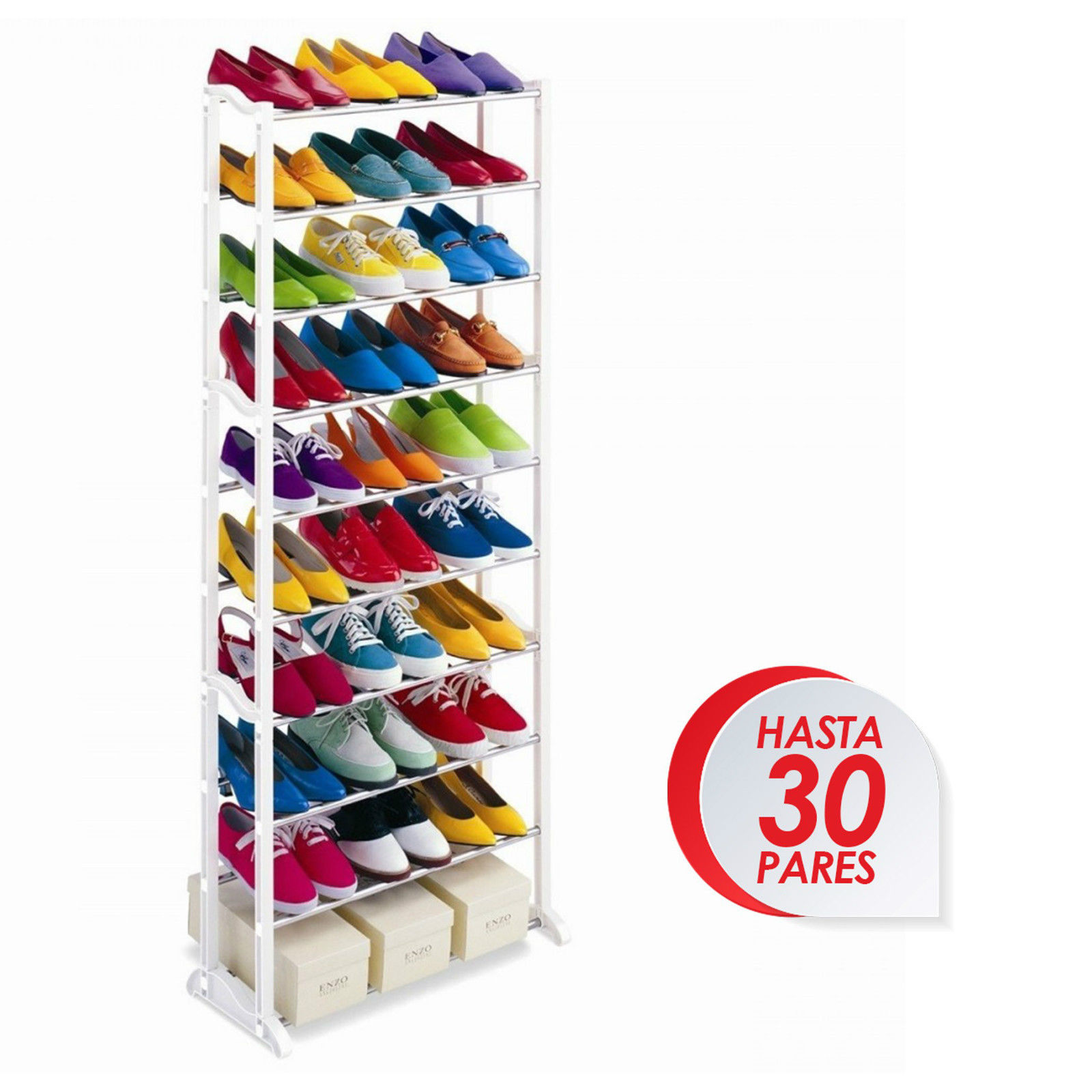 SHOE 30 PAIRS SHOE ORGANIZER FURNITURE SHOE RACK WARRENTY