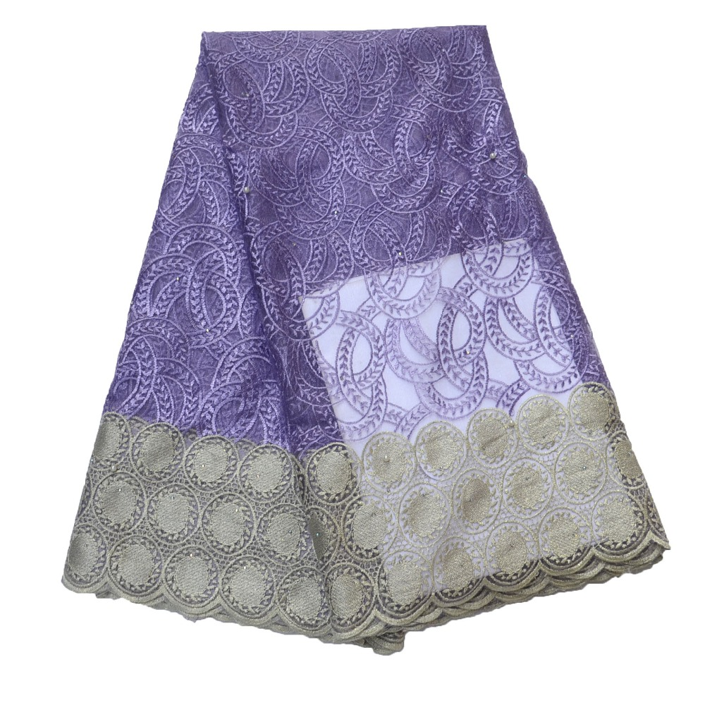 High quality  African Lace Fabric with beaded French  Lace Fabric 8 colour  for dress  HJ798-1High quality  African Lace Fabric with beaded French  Lace Fabric 8 colour  for dress  HJ798-1