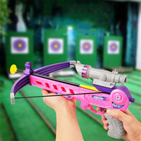 1 Set of Outdoor Sports Archery Bow Toys Guns Parent child Games For Children Infrared Suction Cup Arrow Birthday Gift For Kids